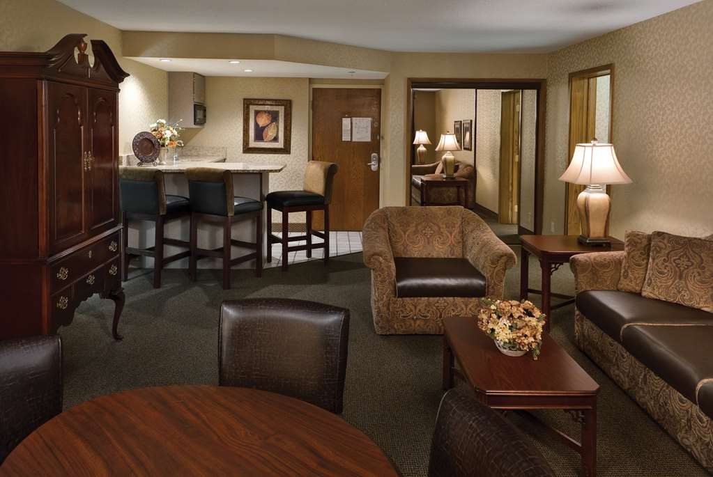 Best Western Plus Ramkota Hotel - Our rooms feature plush mattresses and luxurious linens with lots of fluffy pillows, single-serve coffeemakers and MP3 compatible alarm clocks.