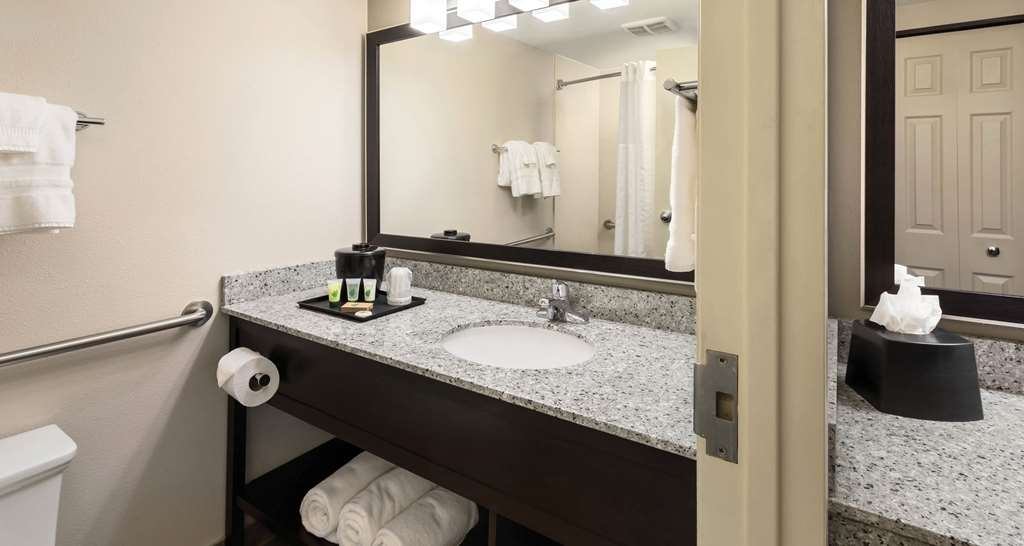 Best Western Ramkota Hotel - Unpack all the essentials as our guest bathrooms provide plenty of space to get ready for the day.