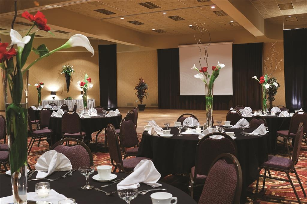 Best Western Ramkota Hotel - Our convention center perfect for meetings and conventions with 17 foot high ceilings 110 and 220 electrical phone and wireless Internet.