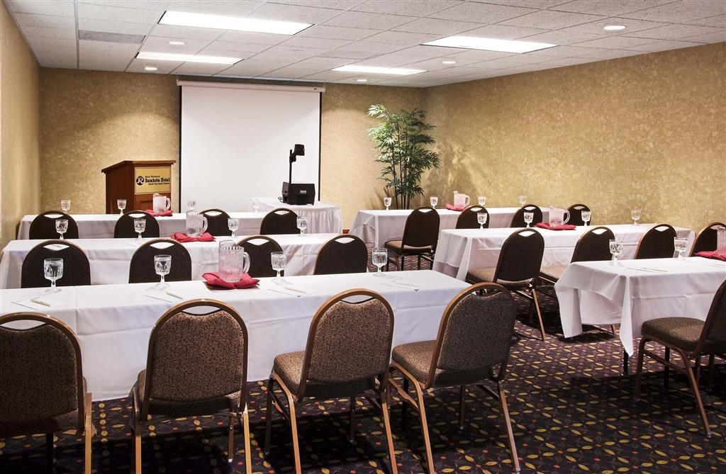 Best Western Ramkota Hotel - Meeting rooms set per your specifications.