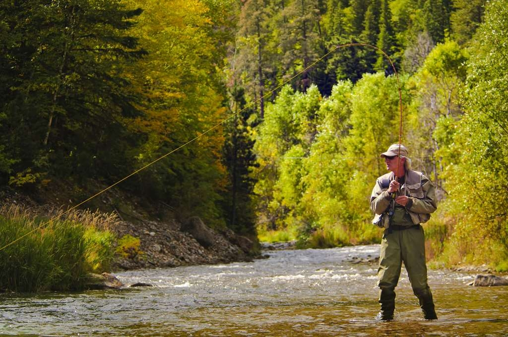 Best Western Black Hills Lodge - Fly Fishing at Spearfish Creek, Photo courtesy of South Dakota Department of Tourism