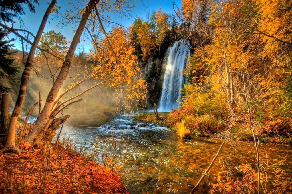 Best Western Black Hills Lodge - Spearfish Falls in Spearfish Canyon. Photo courtesy of South Dakota Department of Tourism