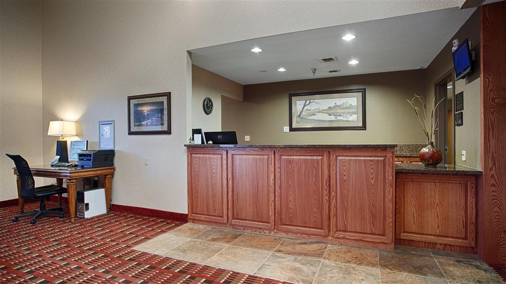 Best Western Vermillion Inn - reception