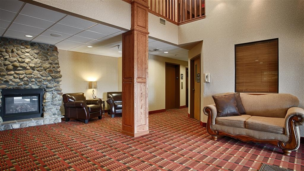 Best Western Vermillion Inn - Vue du lobby