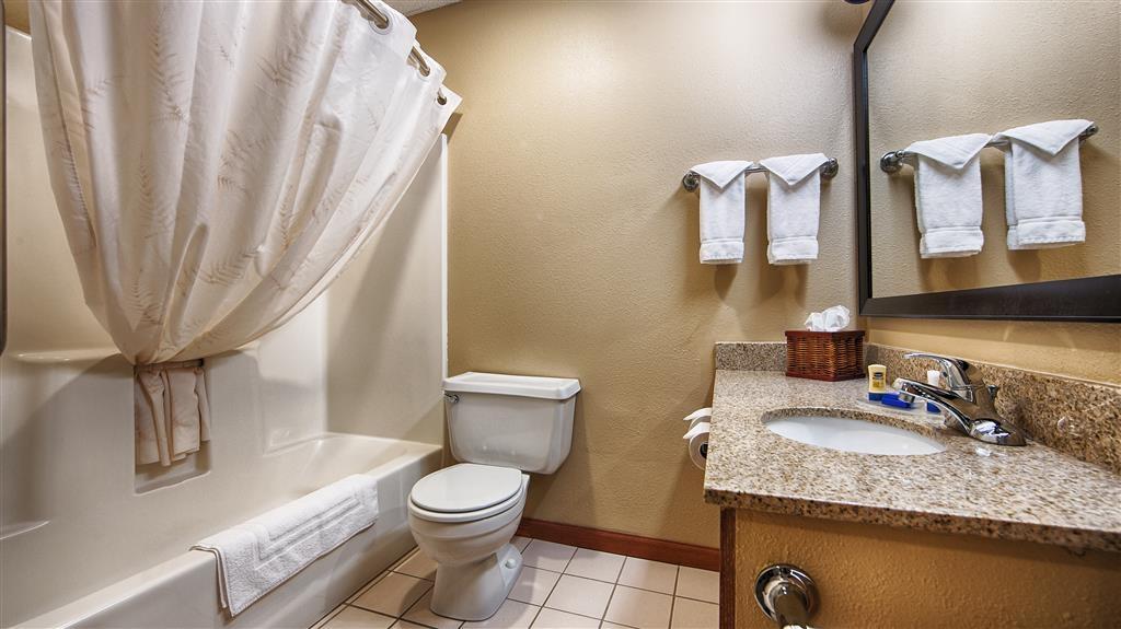 Best Western Vermillion Inn - Badezimmer