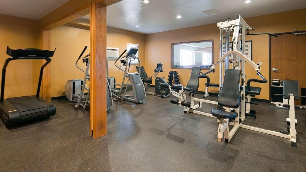 Best Western Vermillion Inn - fitnessraum