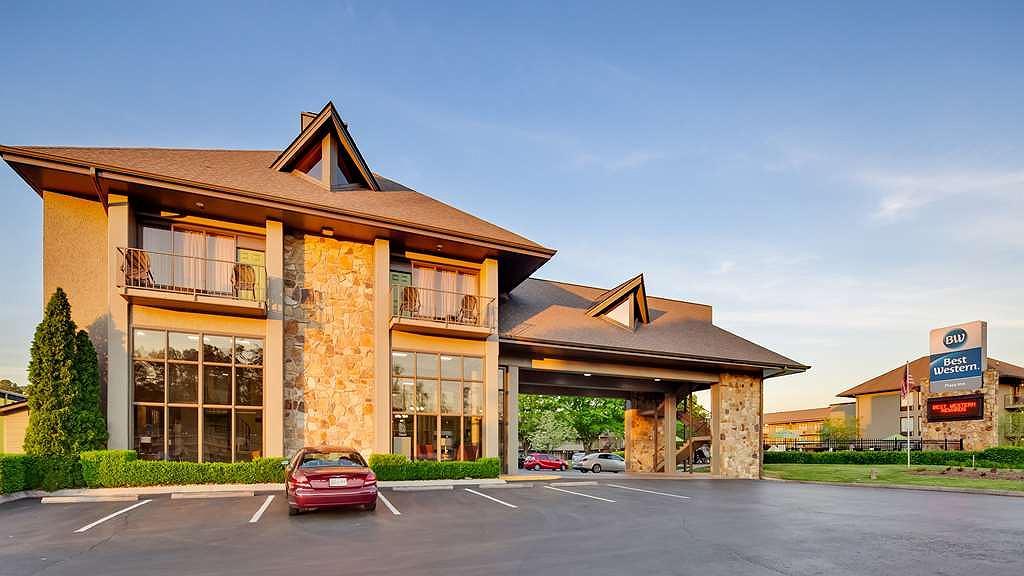 Best Western Plaza Inn - Vista exterior
