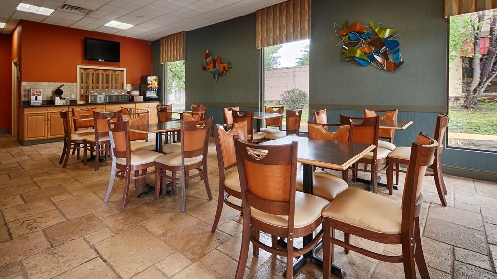 Best Western Franklin Inn - Desayuno Buffet