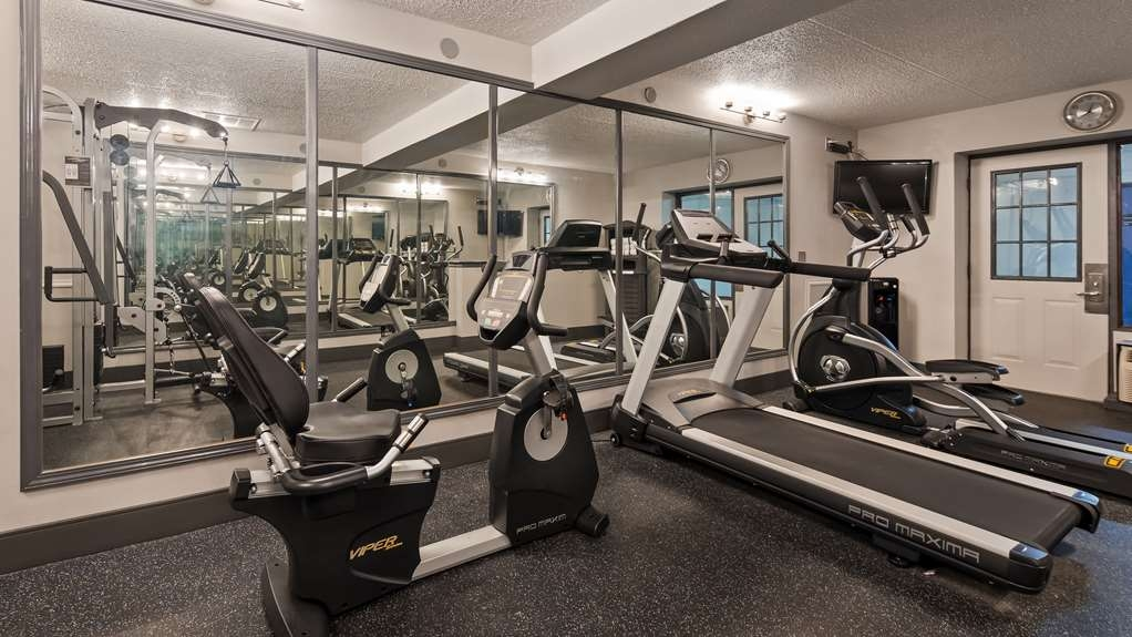 Best Western Franklin Inn - Sala fitness