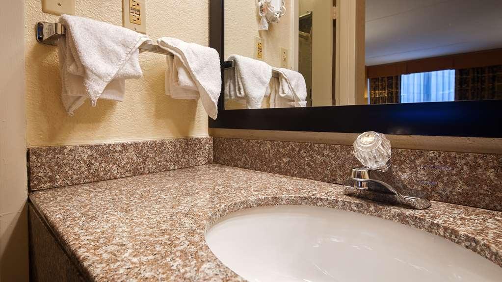 Best Western Heritage Inn - Our Guest Room vanities are updated with granite tops