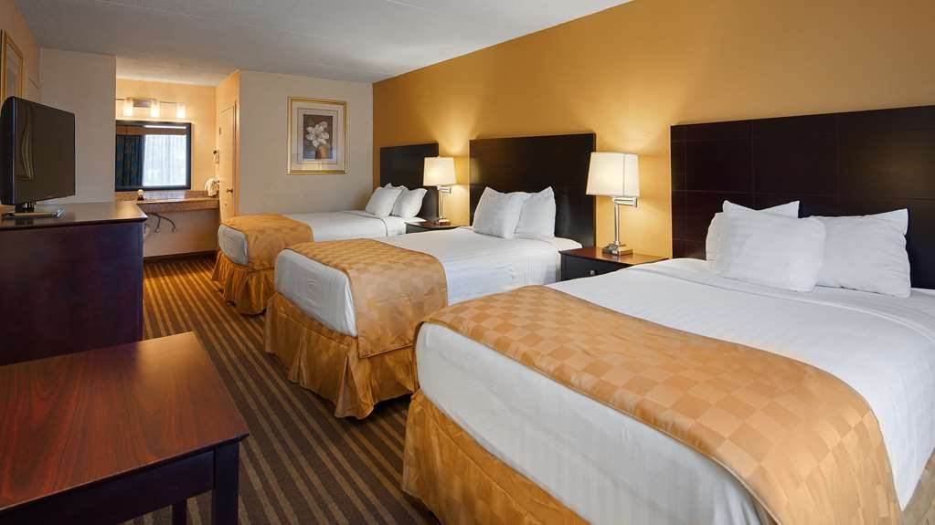Best Western Heritage Inn - Our 3 bed guest rooms are perfect for families and sleep up to 6