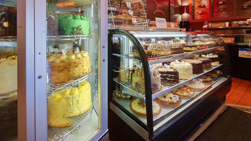 Best Western Heritage Inn - The Restaurant has great desserts, Cakes, Cheesecake, Pies and much more.