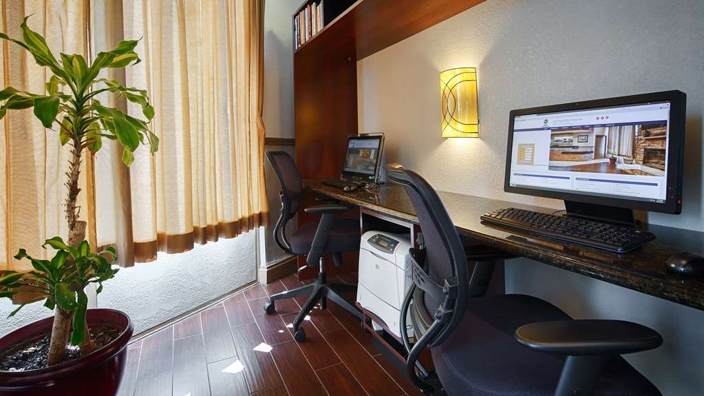 Best Western Heritage Inn - Our Business Center is right off the lobby with 2 computers and printer for your convenience