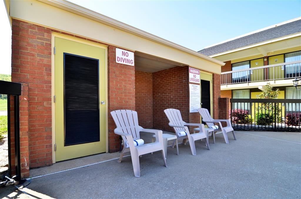 Best Western Fayetteville Inn - Patio all'aperto