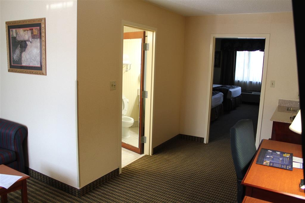 Best Western Celebration Inn & Suites - This suite has a living room area, with separate bedroom with two queen beds.