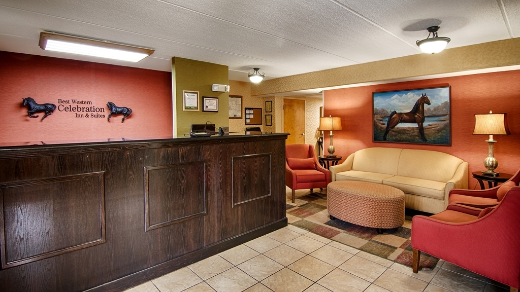 Best Western Celebration Inn & Suites - Our knowledgeable and friendly front desk staff is here to greet you.