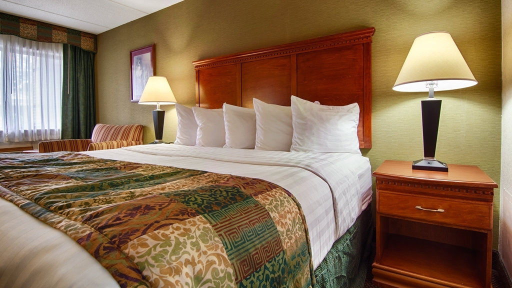 Best Western Celebration Inn & Suites - Our standard guest rooms offer one king pillowtop bed, 32-inch flat screen TV and free high-speed Internet access.