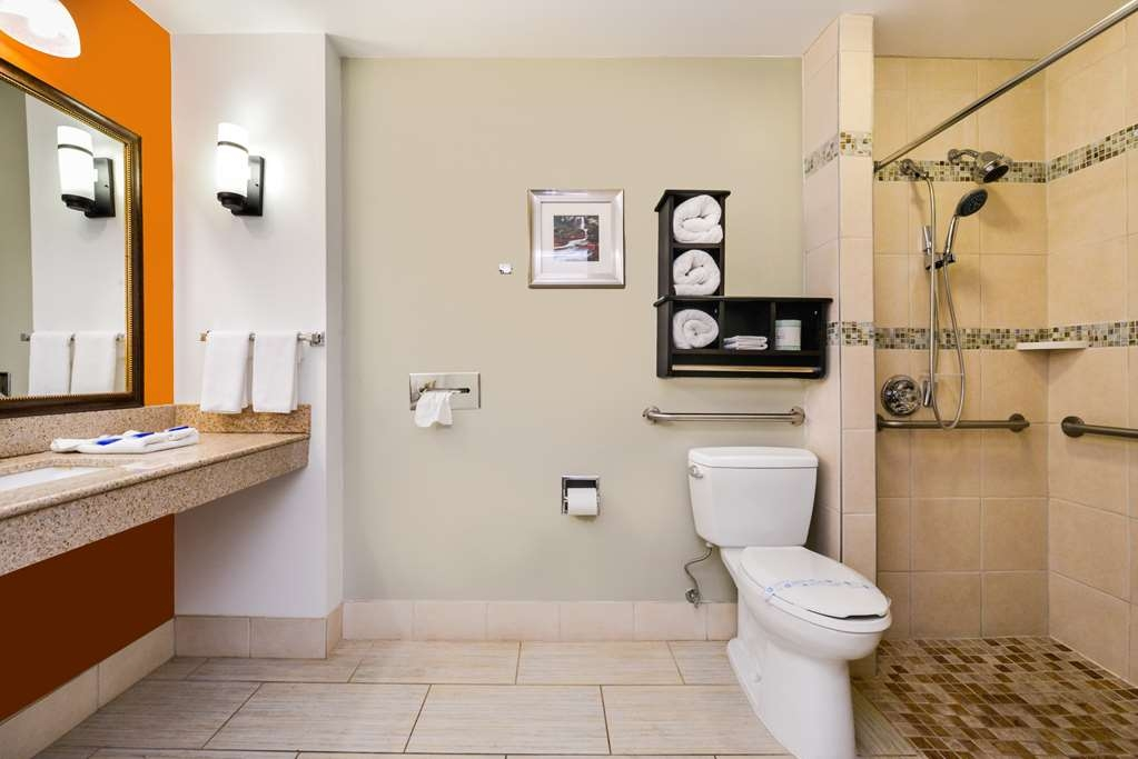 Best Western Inn - Your comfort is our first priority. In our mobility access bathroom you will find that and much more.