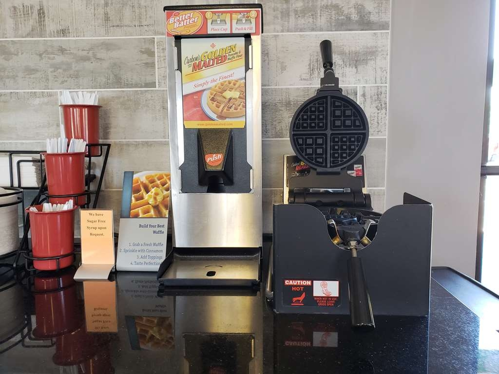 Best Western Executive Inn - Enjoy one of our fresh, hot waffles for breakfast