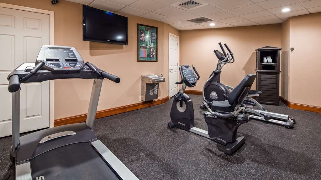 Best Western Tree City Inn - Our fitness center is outfitted with everything you need for a great cardio workout.