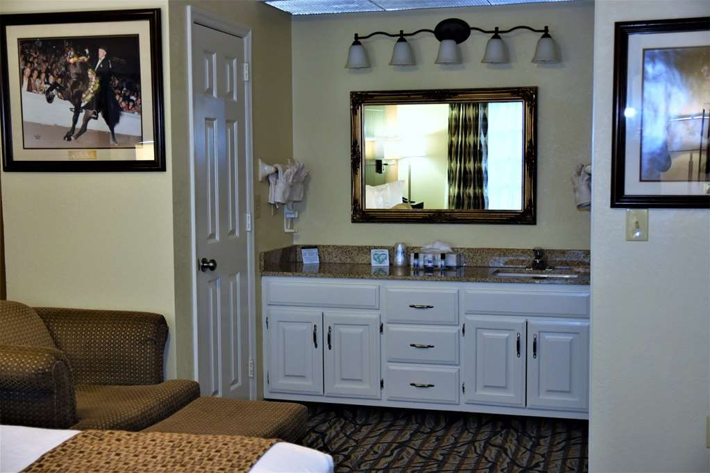 Best Western Spring Hill Inn & Suites - Suite Vanity Area