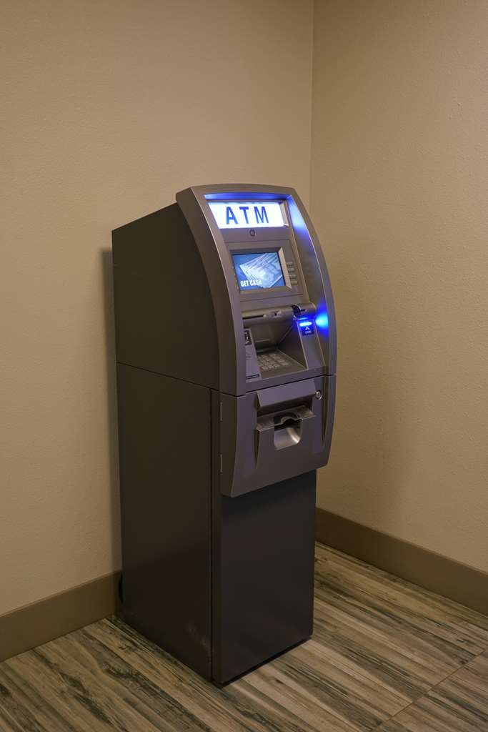 Best Western Plus Morristown Conference Center Hotel - Our ATM is located adjacent to the lobby.