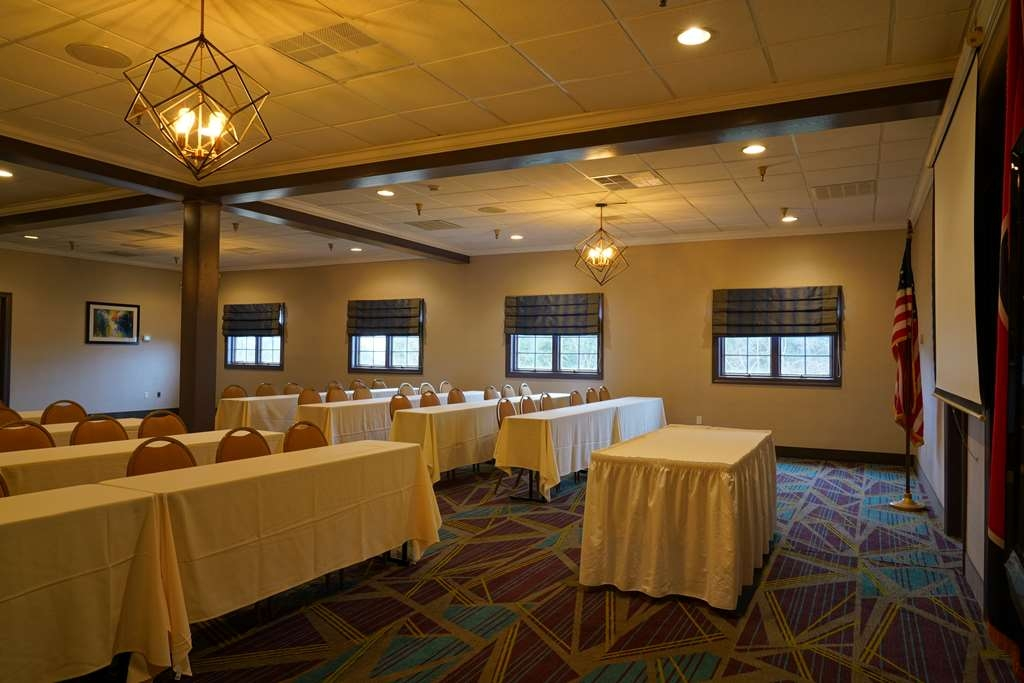 Best Western Plus Morristown Conference Center Hotel - The Cherokee Room is perfect for a business meeting or seminar.