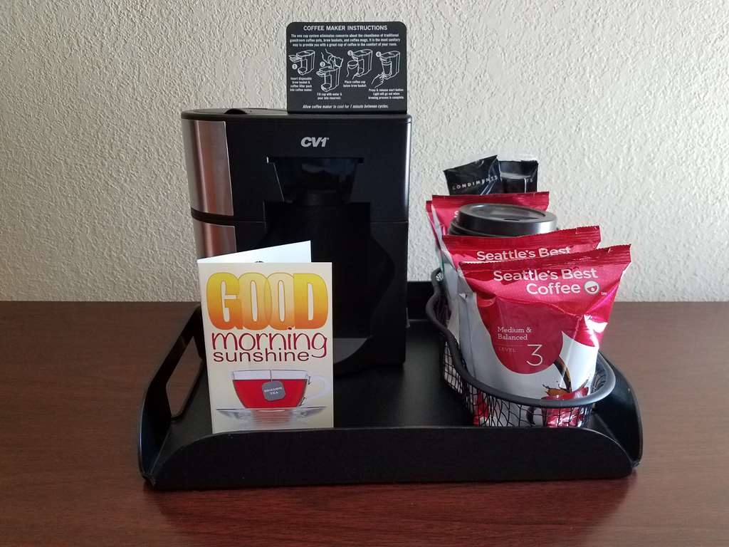 Best Western Plus Morristown Conference Center Hotel - Enjoy Seattle's Best Coffee and Bigelow tea in each guest room