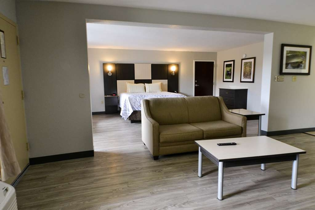 Best Western Cades Cove Inn - Spend some time after a hectic day in the living room featured in our King Suite.