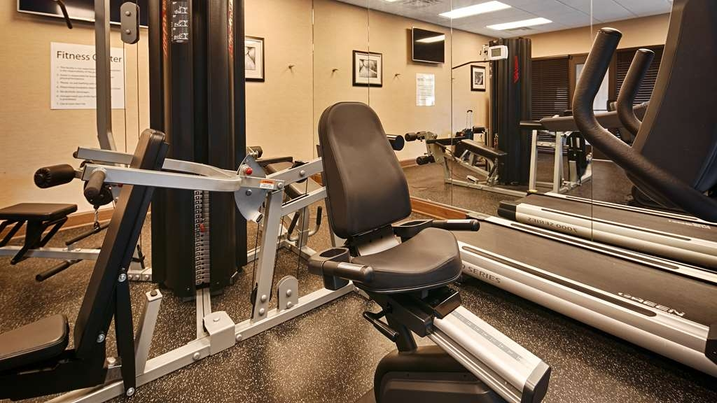Best Western Plus Atrium Inn & Suites - Fitnessstudio