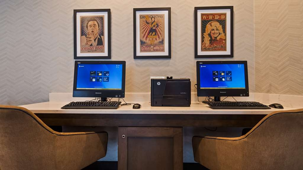Best Western Plus Nashville Airport Hotel - affari-centro