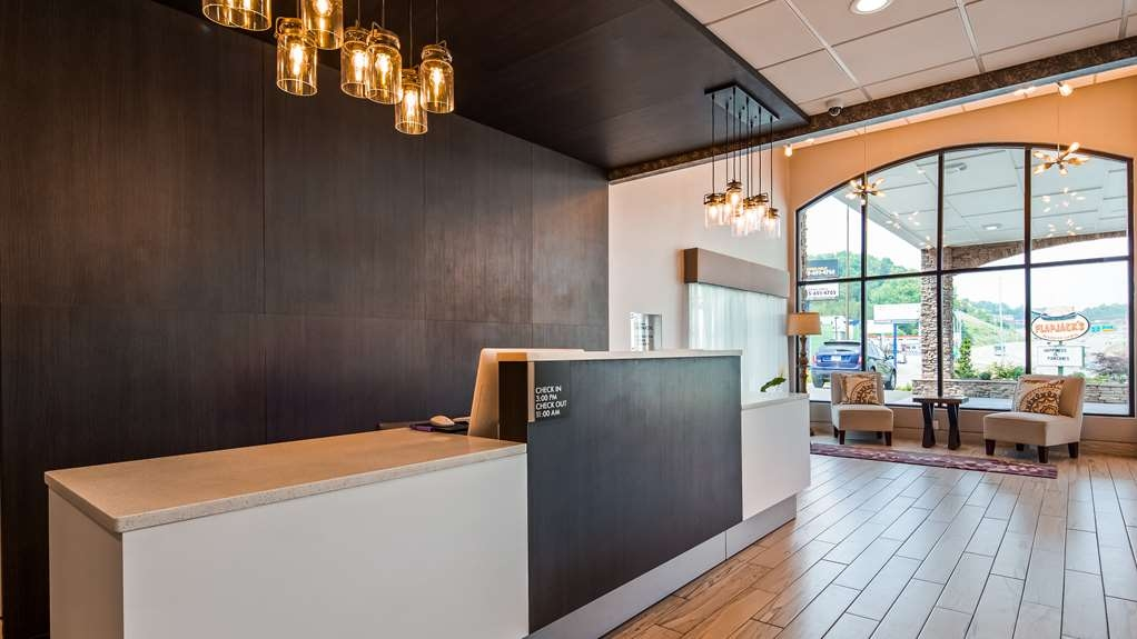 Best Western Sevierville/Kodak Inn - Vista del vestíbulo