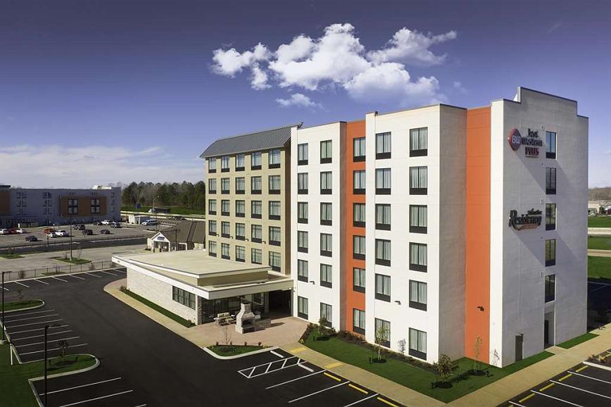 Best Western Plus Executive Residency Jackson Northeast - Vista exterior