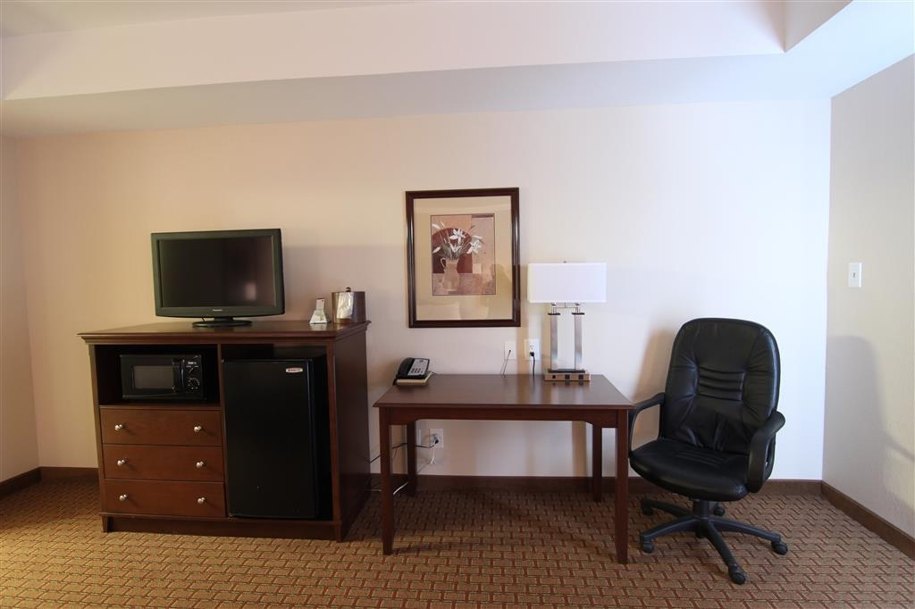 Best Western Canton Inn - Habitación con cama de matrimonio extragrande
