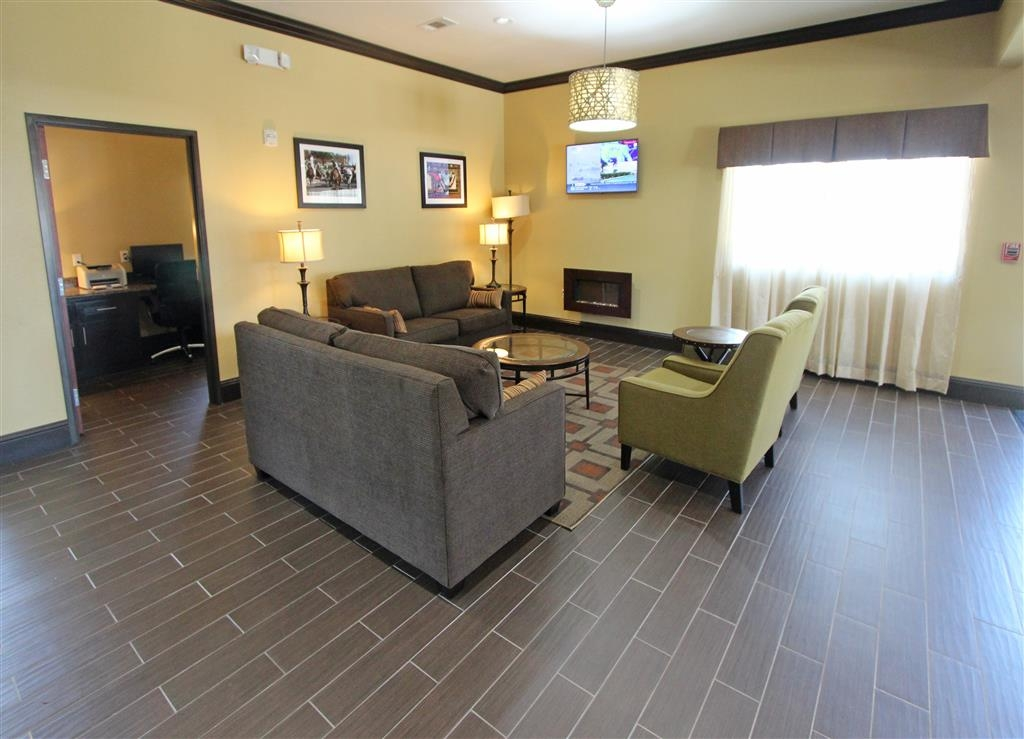 Best Western Trail Dust Inn & Suites - Hotelfoyer und Business Center