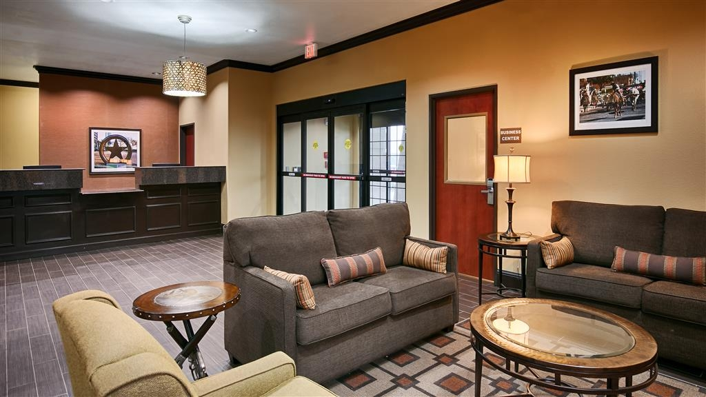 Best Western Trail Dust Inn & Suites - Foyer