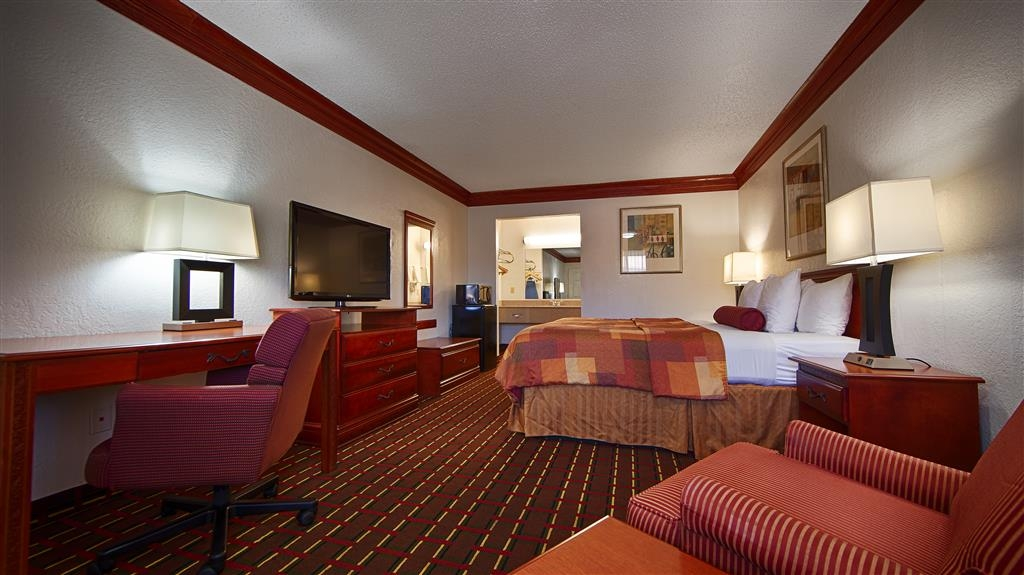 Best Western Decatur Inn - There's plenty of room for lounging in our well-appointed King room.