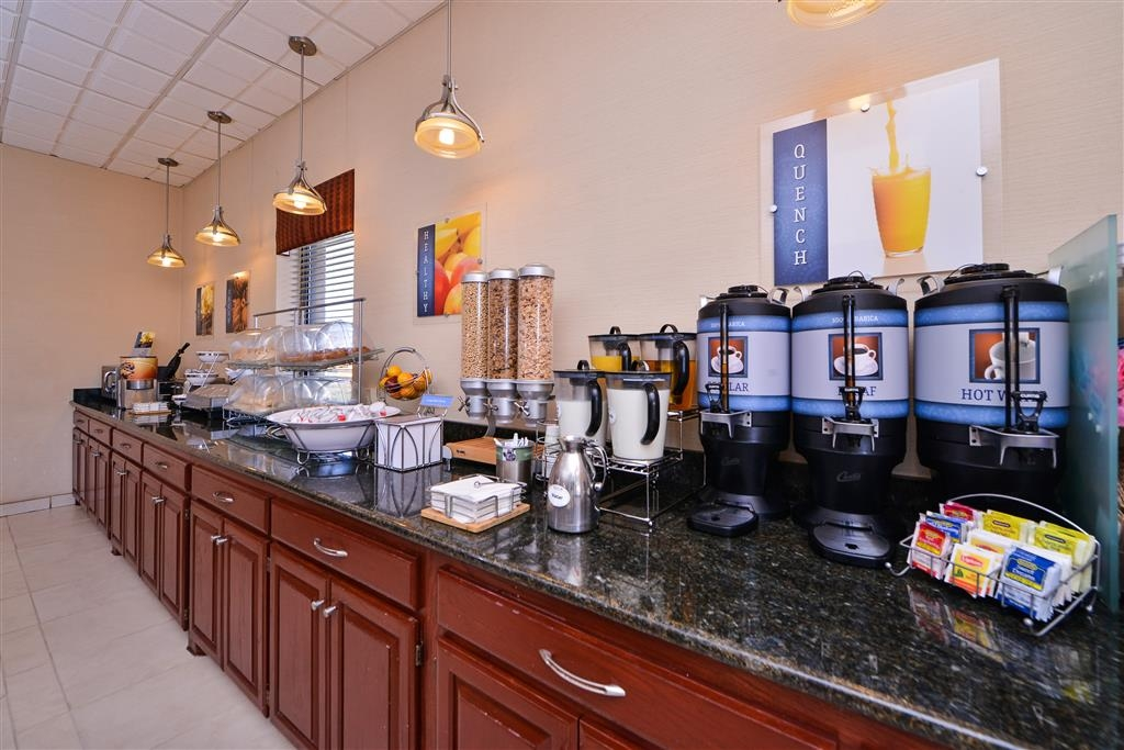 Best Western Northgate Inn - Even if you are in rush don't miss the most important meal of the day!