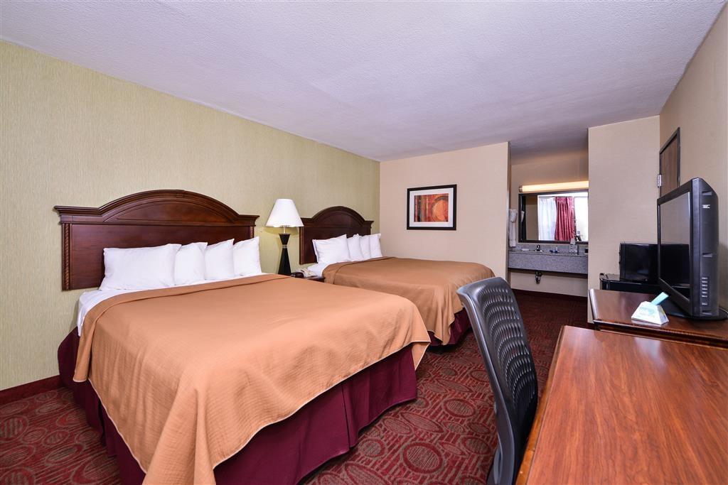 Best Western Northgate Inn - Vous visitez la ville avec un ami proche? Réservez notre chambre avec deux lits queen size pour plus de commodité.
