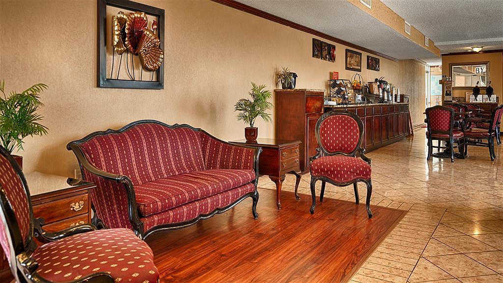Best Western Inn of Del Rio - Hall de l'hôtel