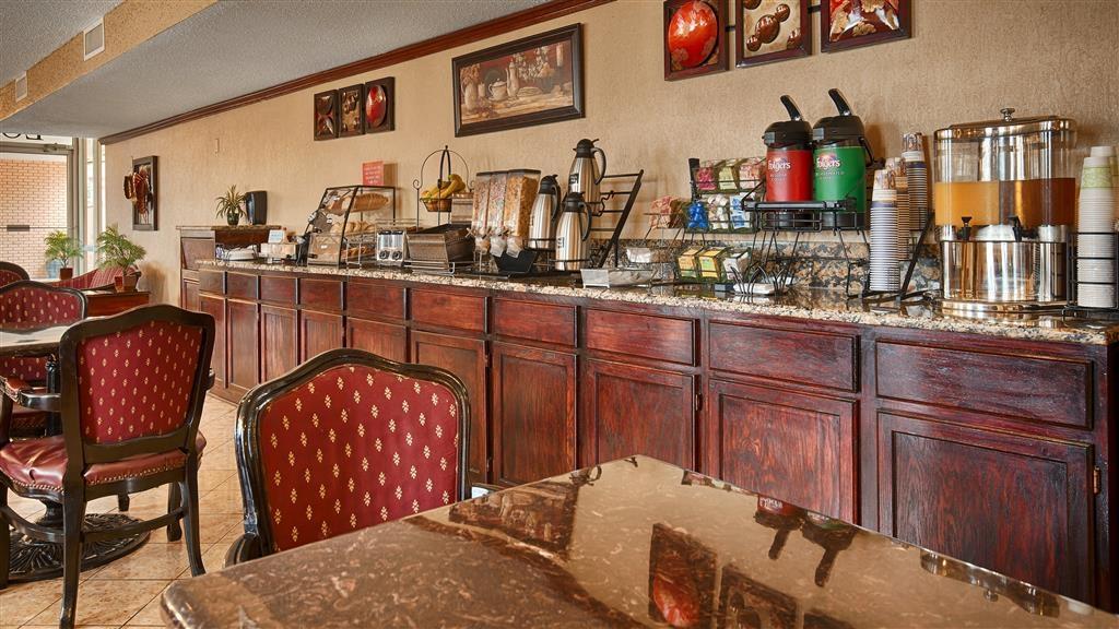 Best Western Inn of Del Rio - Salle de petit déjeuner