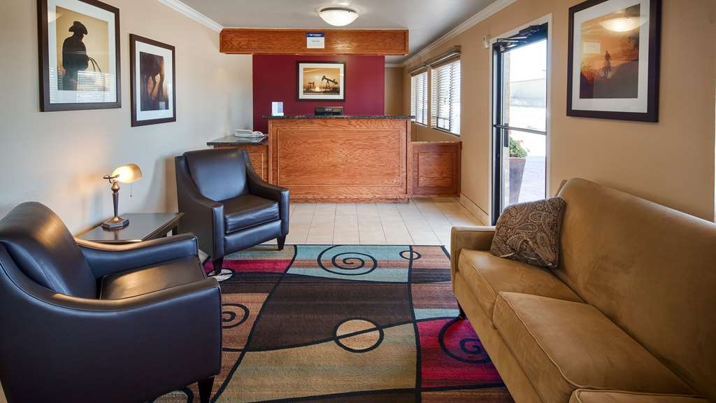Best Western Caprock Inn - Vue du lobby