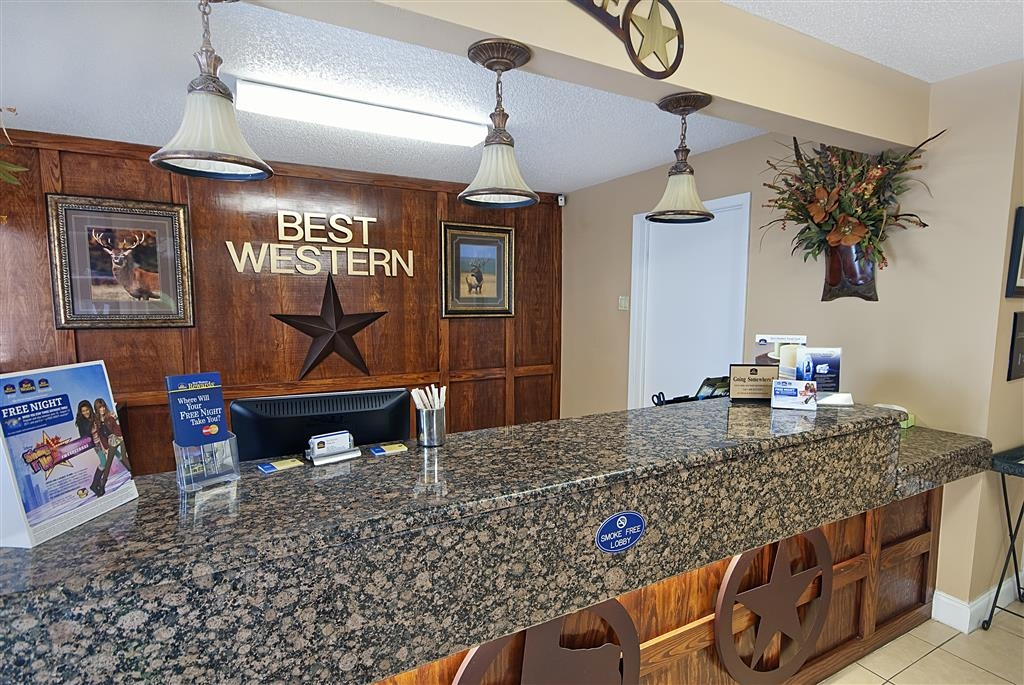 Best Western Brady Inn - Reception