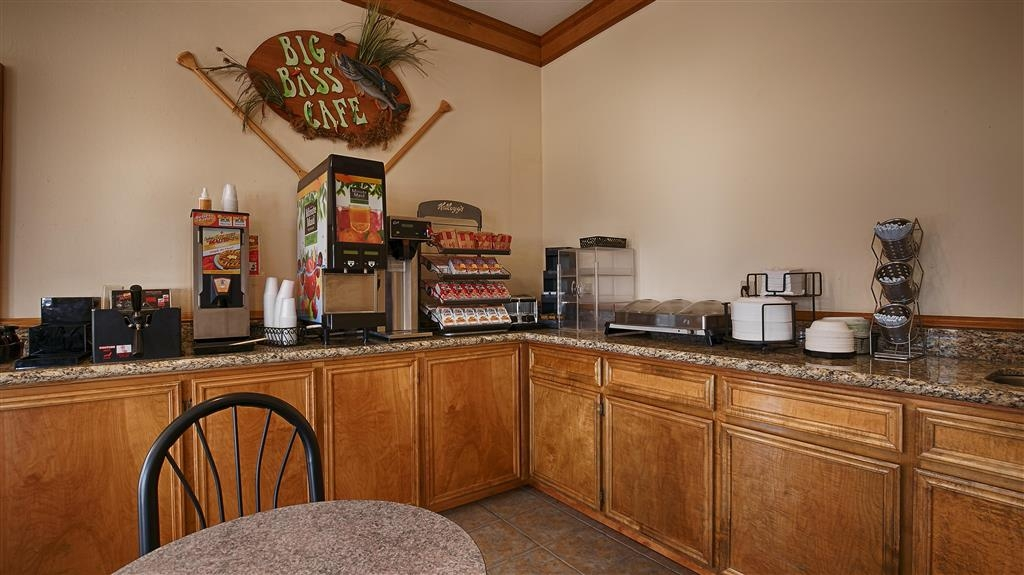 Best Western Inn of Jasper - Desayuno Buffet