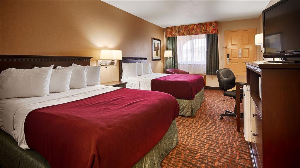 Best Western Sunland Park Inn - Gästezimmer mit zwei Queensize-Betten
