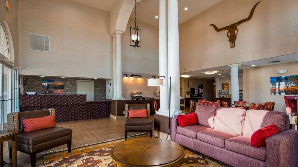 Best Western Marble Falls Inn - Lobbyansicht