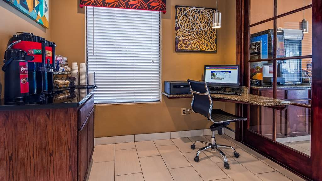 Best Western Round Rock - Stay productive during your time away from home in our business center located in the lobby