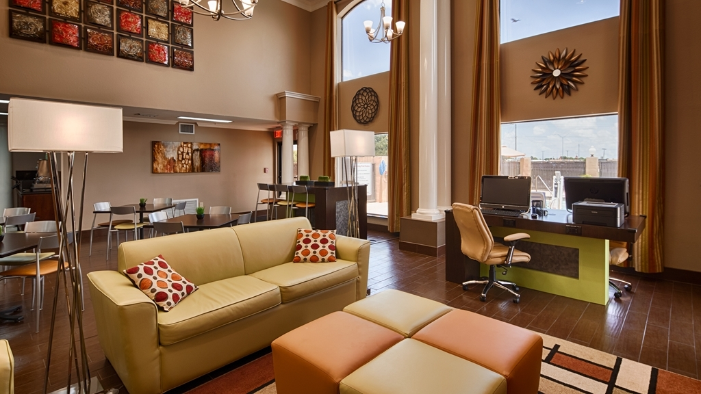 Best Western Inn & Suites - First impressions are the most important, and our chic lobby is no exception to that rule.