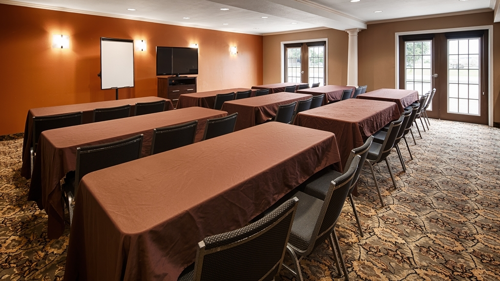 Best Western Inn & Suites - Need to schedule a meeting for business? We have space available for you and your clients.