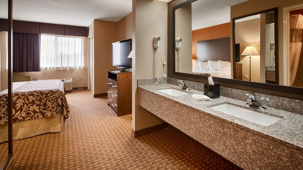 Best Western Inn & Suites - We designed our mobility accessible rooms for easy wheelchair access.